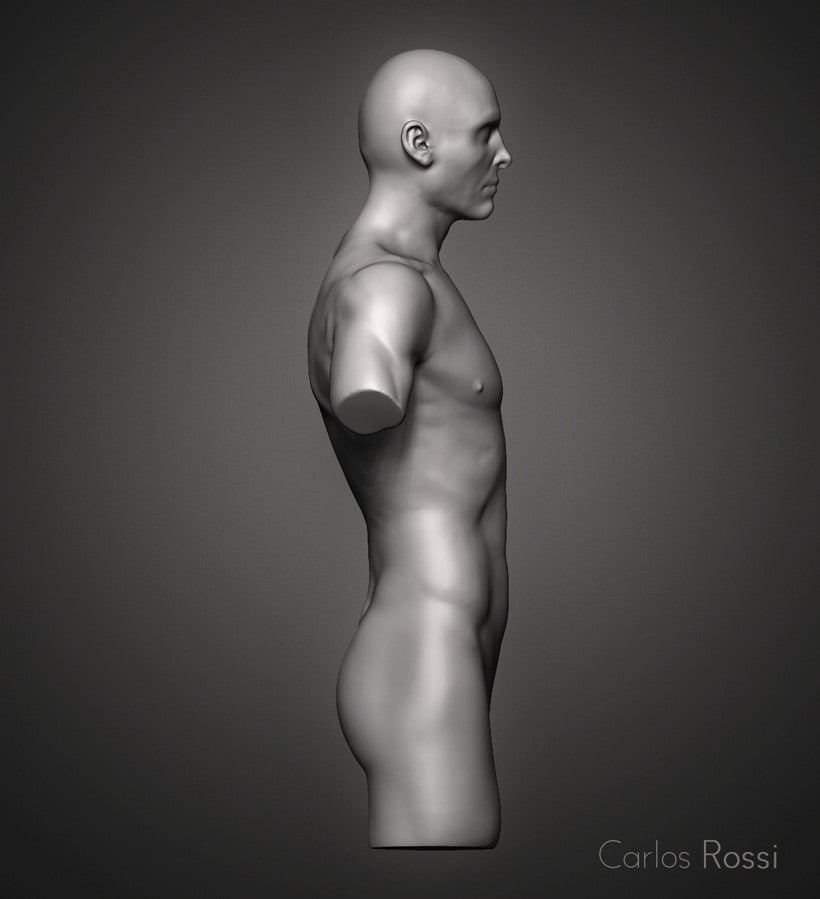 Practice torso man 1