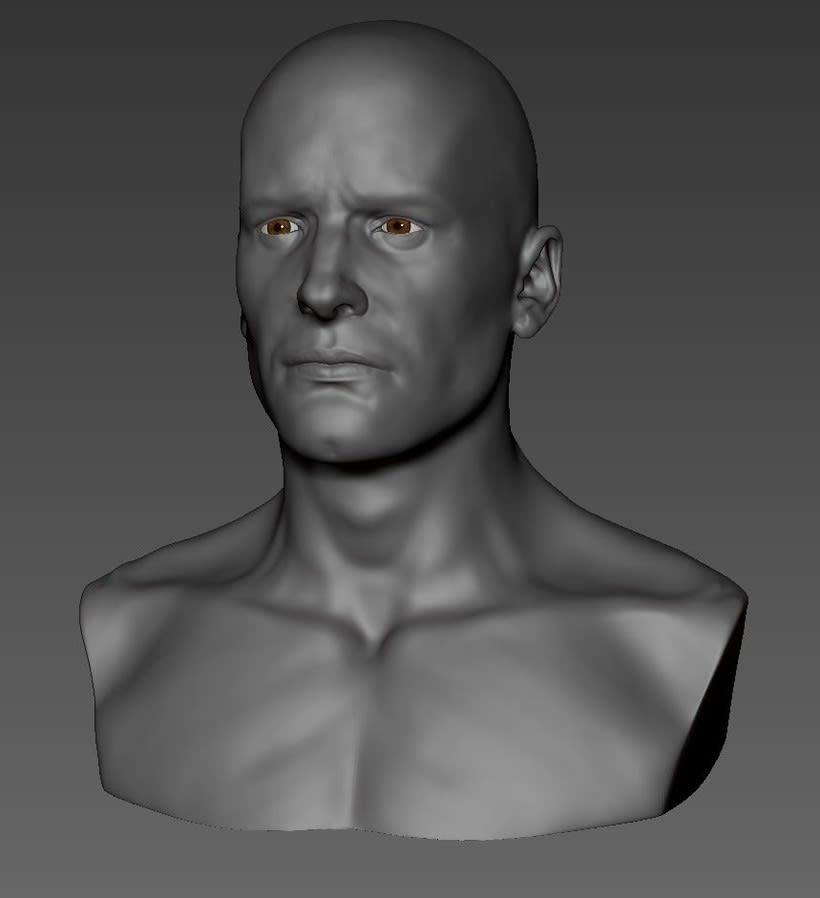 male head -1