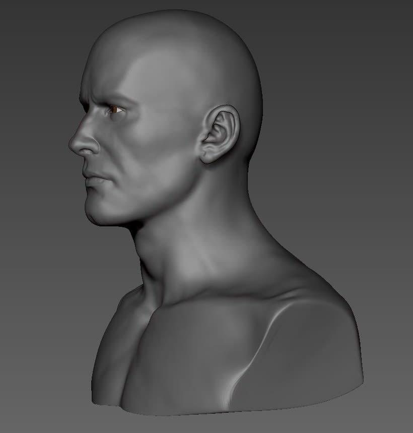 male head 0