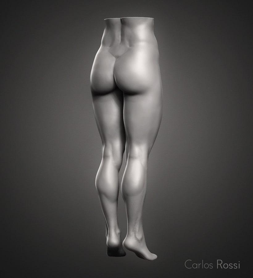 Practice leg woman 0