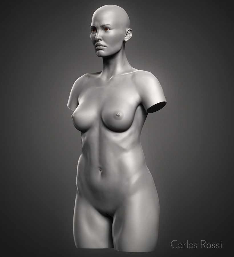Practice torso woman 0