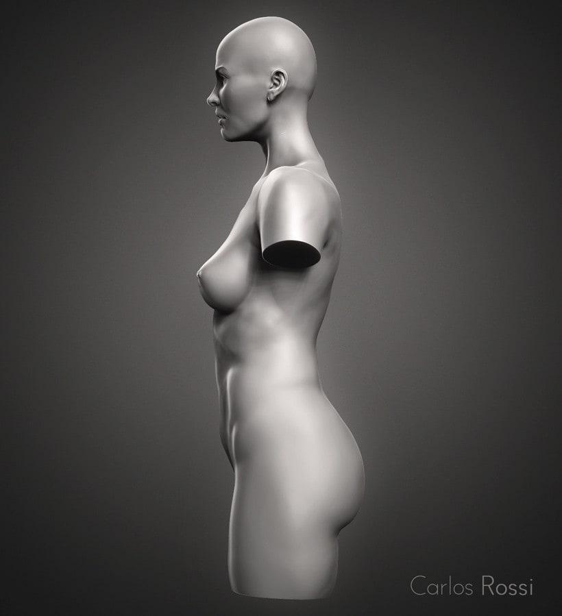 Practice torso woman 1