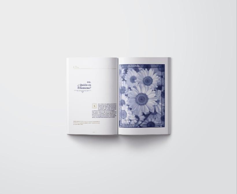 Mi Proyecto del curso: Introducción al Diseño Editorial/ Filomena 2
