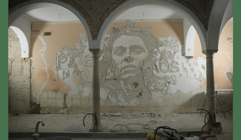 Alexadre Farto aka VHILS llega a Sevilla. Proyecto comisariado por Diwap Gallery 0