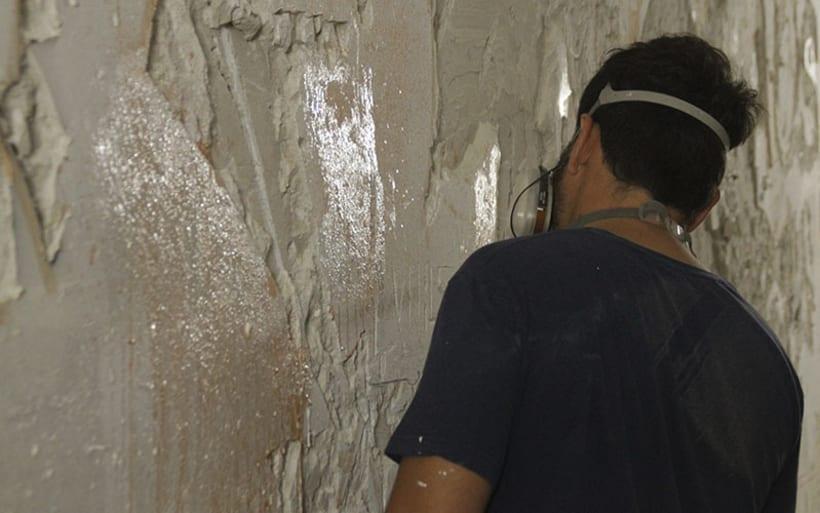 Alexadre Farto aka VHILS llega a Sevilla. Proyecto comisariado por Diwap Gallery 6