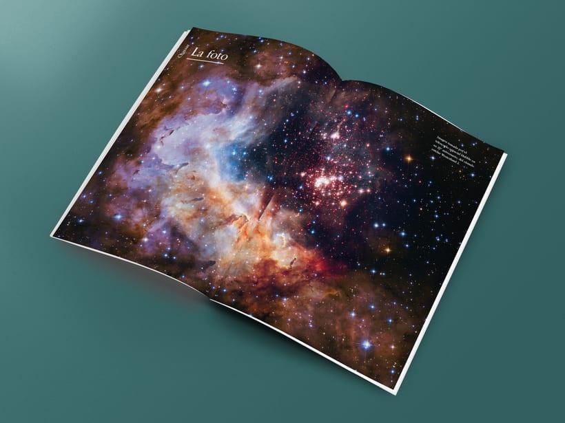 Mi Proyecto del curso: Introducción al Diseño Editorial. Quasar, revista científica 1