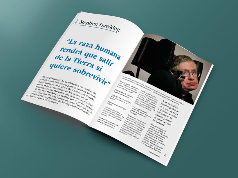 Mi Proyecto del curso: Introducción al Diseño Editorial. Quasar, revista científica 2