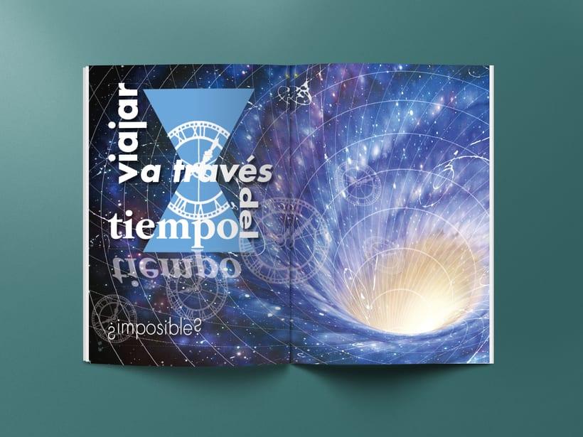 Mi Proyecto del curso: Introducción al Diseño Editorial. Quasar, revista científica 5