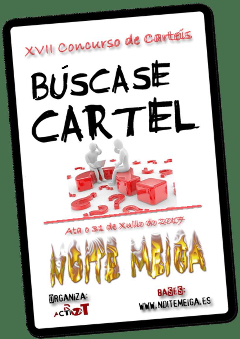 Concurso De Carteles Noite Meiga Concursos Domestika