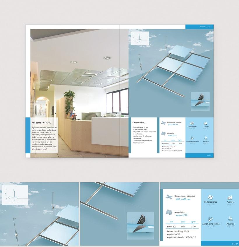 Catálogo Bandejas metálicas para Knauf (2007) 1
