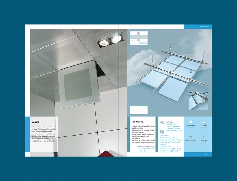 Catálogo Bandejas metálicas para Knauf (2007) 2