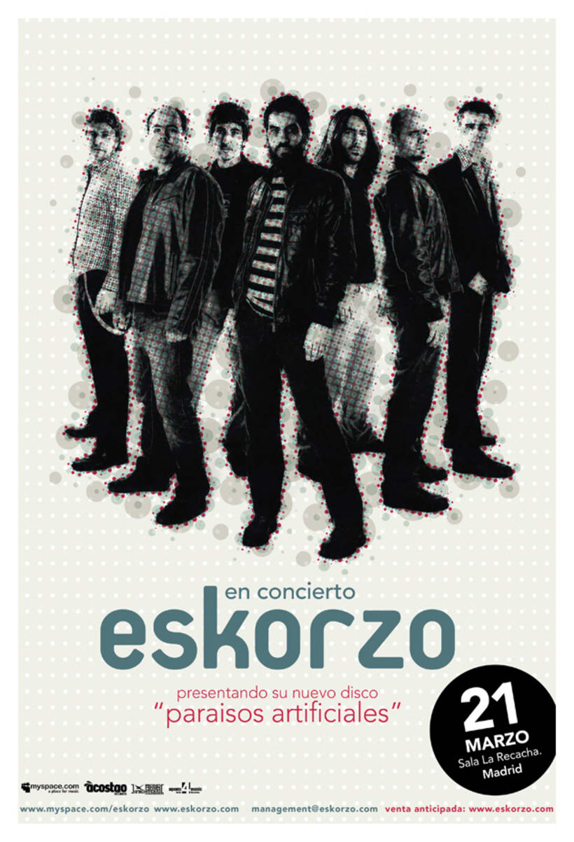 Eskorzo. Paraísos Artificiales. cd art work 0