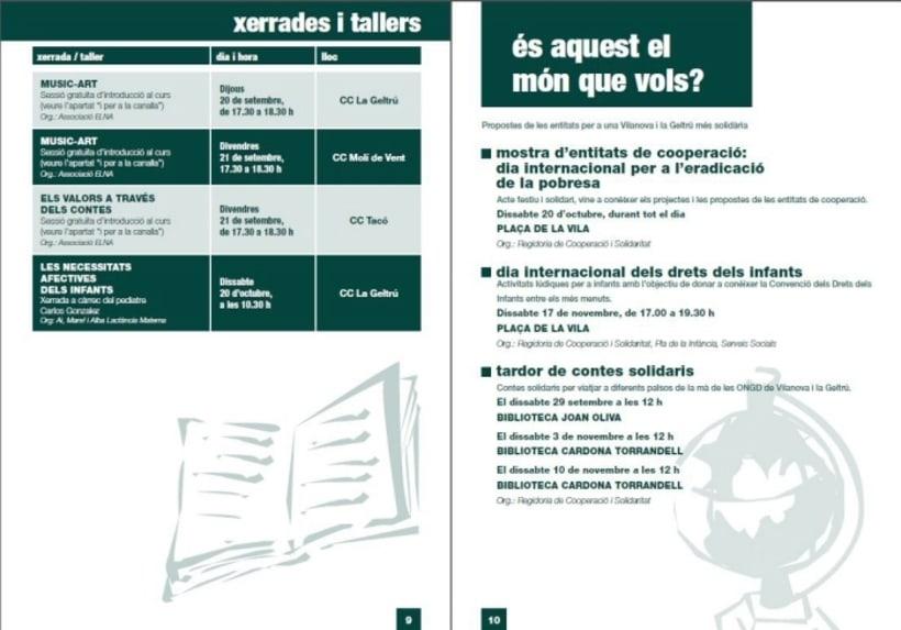 Diseño/ Maquetación libro centros cívicos Ajuntament Vilanova i la Geltrú 1