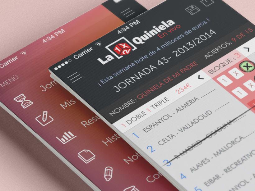 """Aplicación oficial """"La Quiniela"""" -1"""