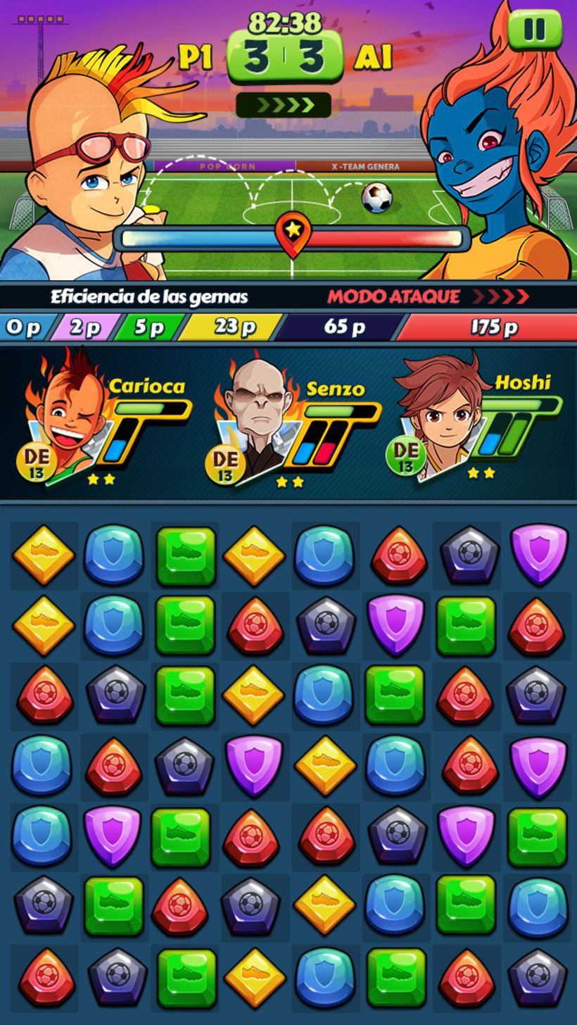 """""""Hoshi Eleven Puzzle Quest"""" Disponible en Appstore y Playstore 0"""