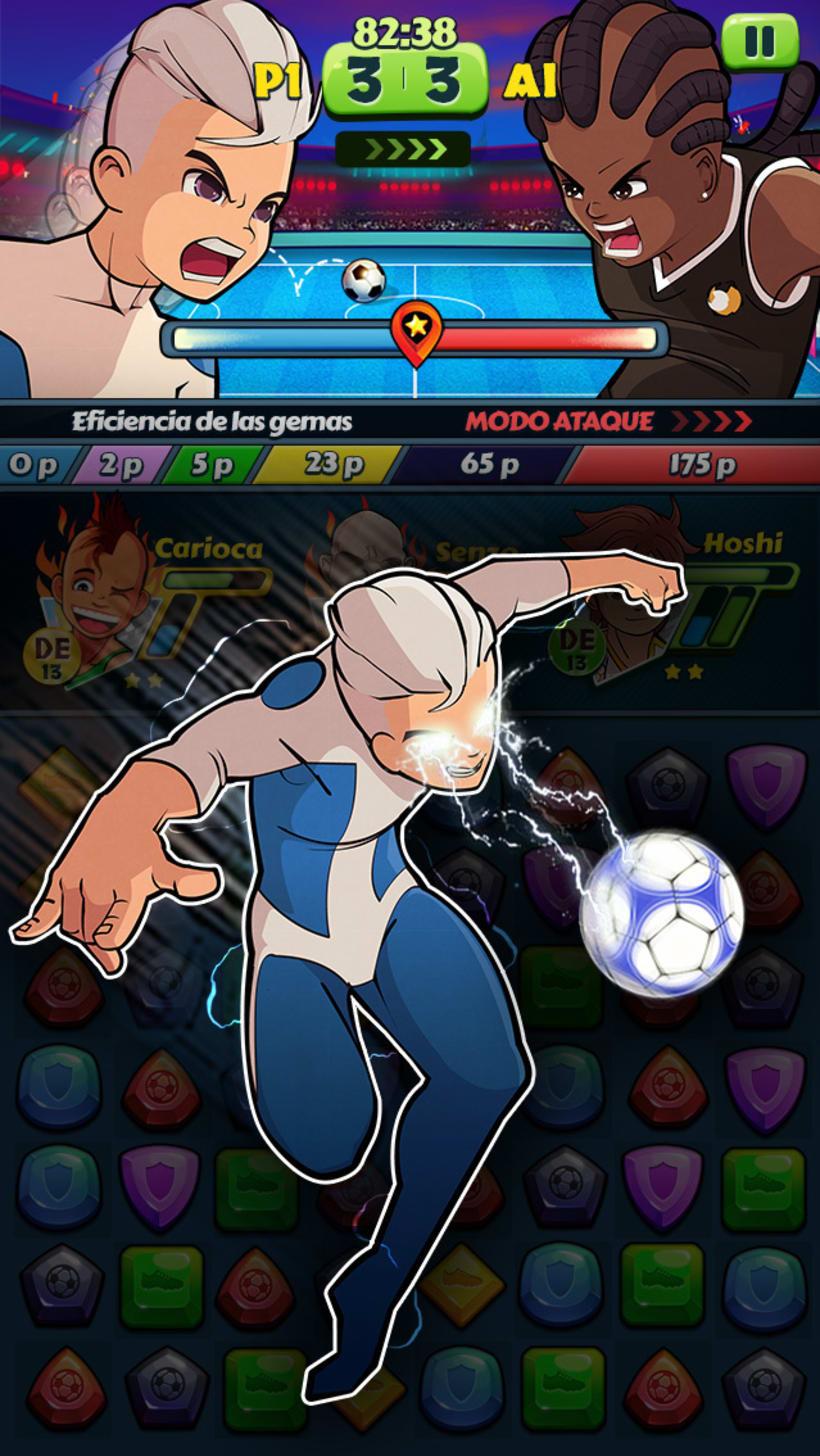 """""""Hoshi Eleven Puzzle Quest"""" Disponible en Appstore y Playstore 1"""