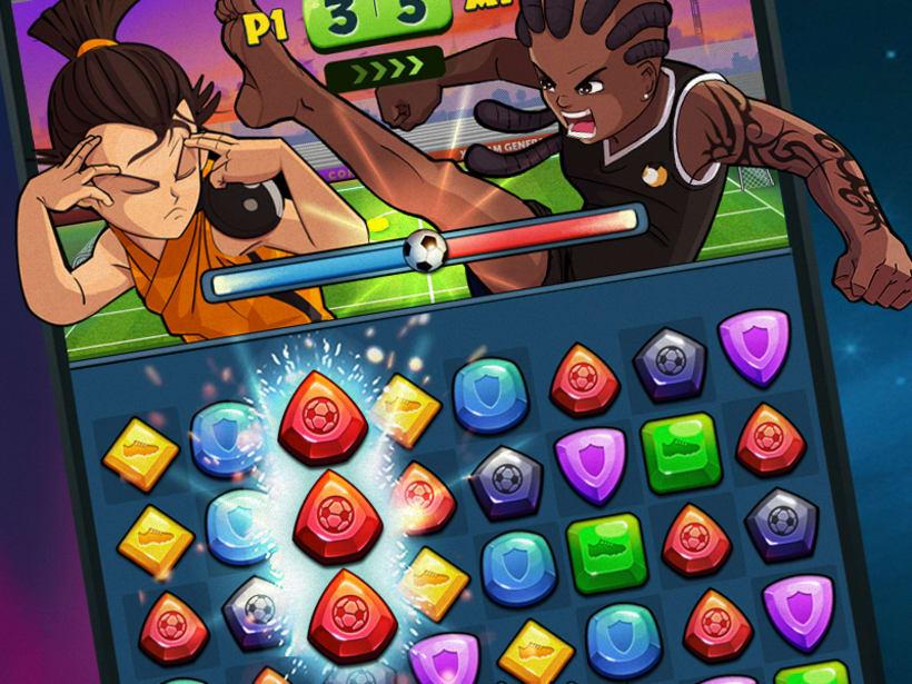 """""""Hoshi Eleven Puzzle Quest"""" Disponible en Appstore y Playstore 5"""