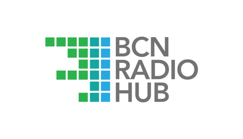 Diseño logotipo BCN RADIO HUB -1