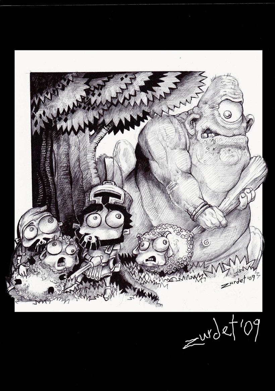 Mitology.. Uno de los proyectos más divertidos de mi vida....Mitología e Ilustración, no se puede pedir más. 8