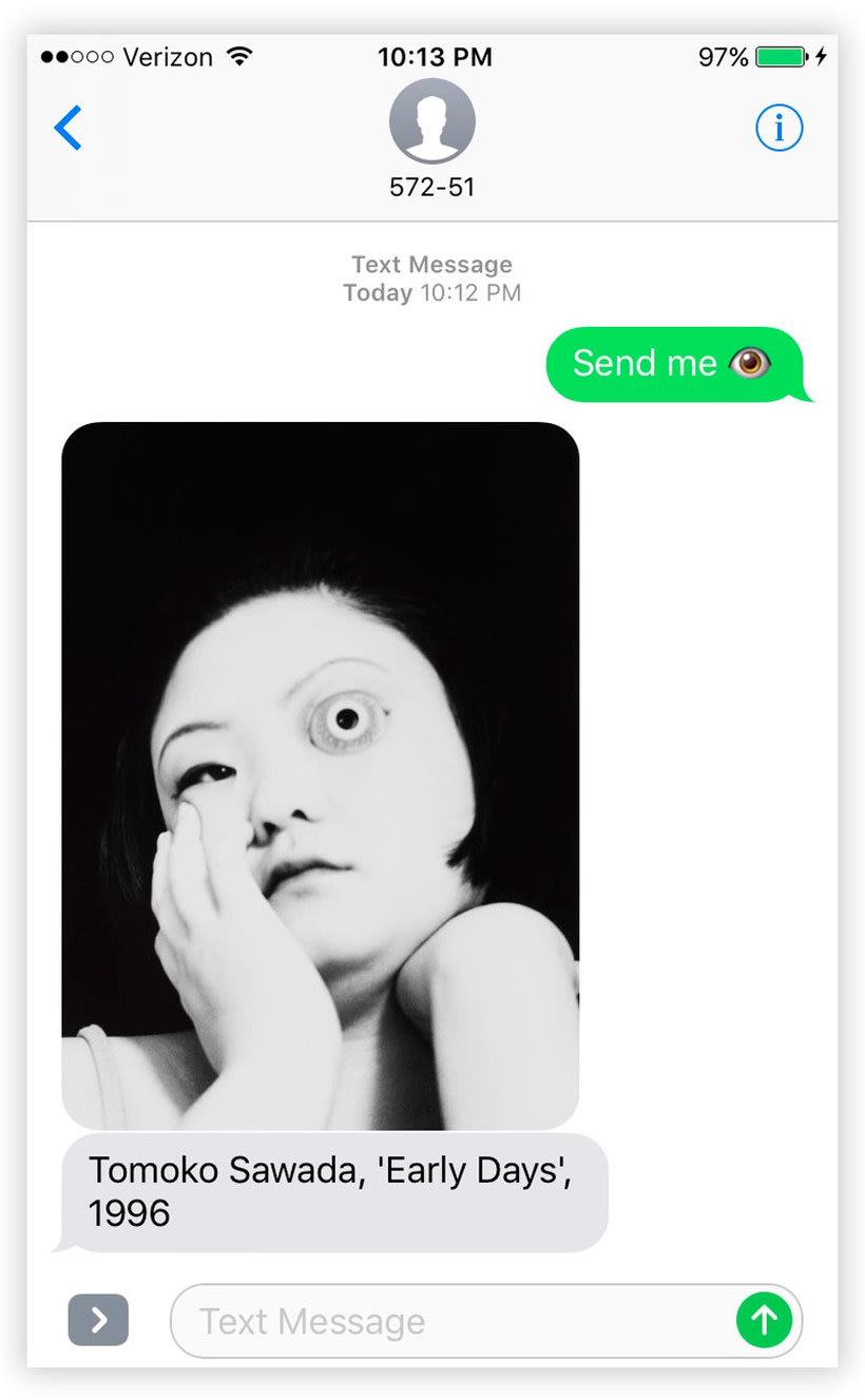 Send Me SFMOMA: arte moderno a cambio de un SMS 1