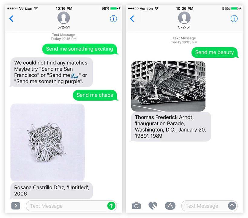 Send Me SFMOMA: arte moderno a cambio de un SMS 3