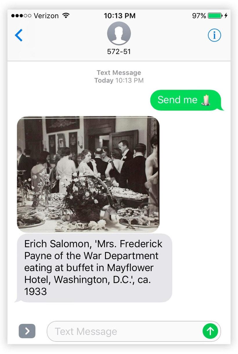 Send Me SFMOMA: arte moderno a cambio de un SMS 5