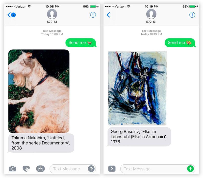 Send Me SFMOMA: arte moderno a cambio de un SMS 6