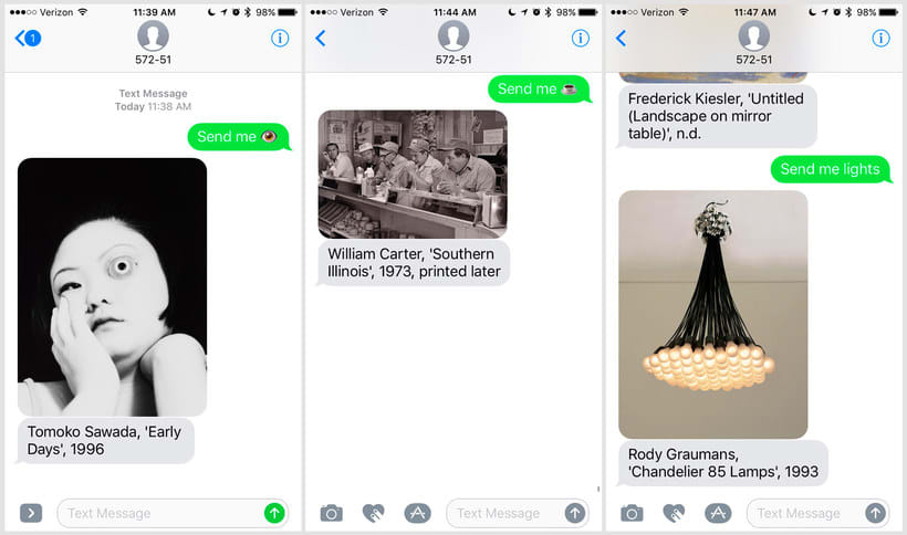 Send Me SFMOMA: arte moderno a cambio de un SMS 7
