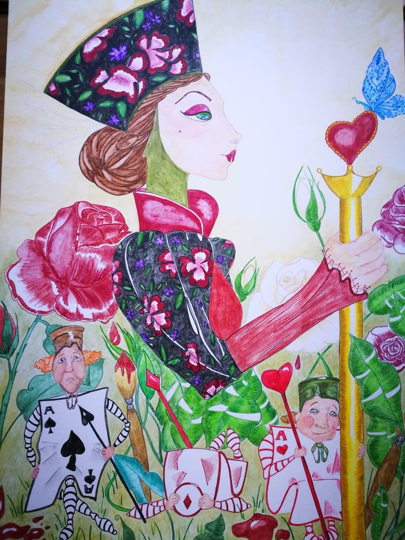 La Reina de Corazones 0