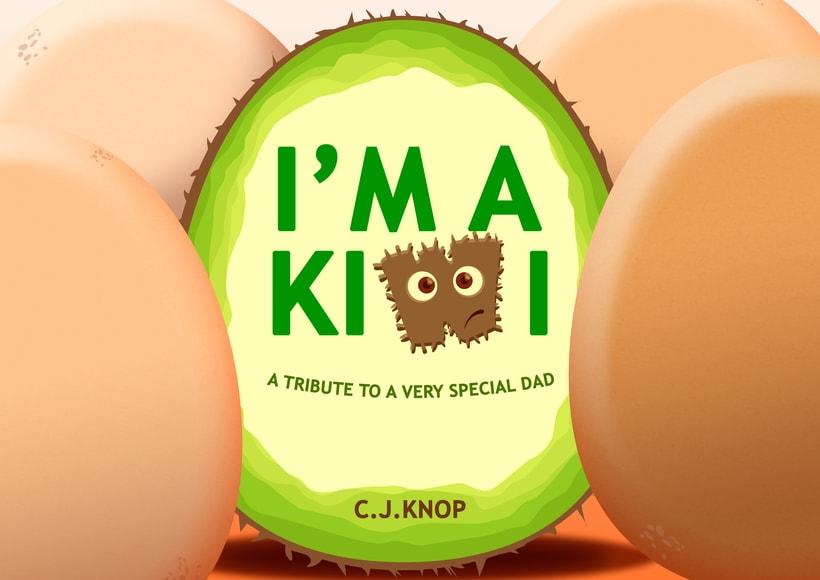 I'm a Kiwi - Cover children's book -1