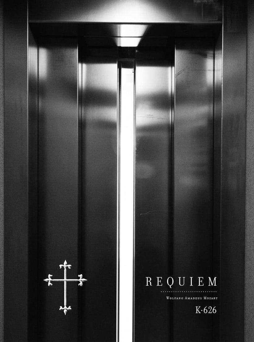Requiem Mozart. Poster (estudio y bocetos) 14