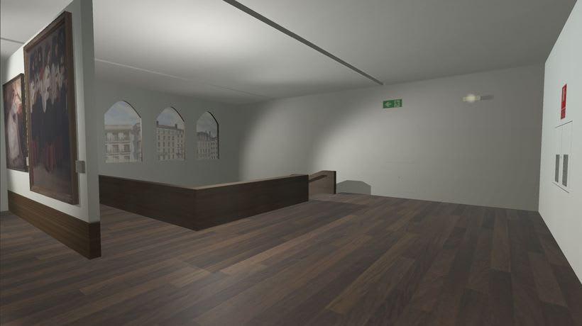 Sala con cuadros Museo San Telmo (Donostia - San Sebastián, España) -1