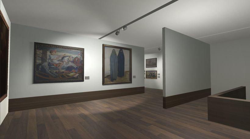 Sala con cuadros Museo San Telmo (Donostia - San Sebastián, España) 0
