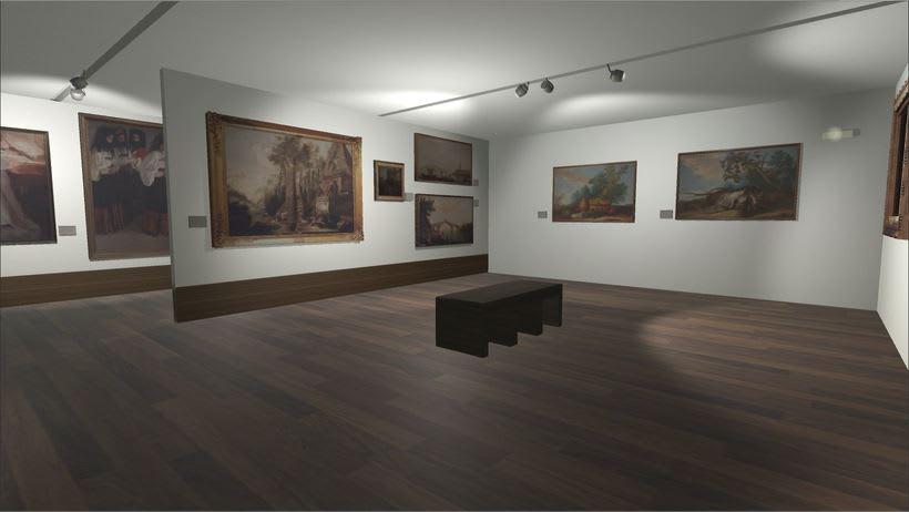 Sala con cuadros Museo San Telmo (Donostia - San Sebastián, España) 2