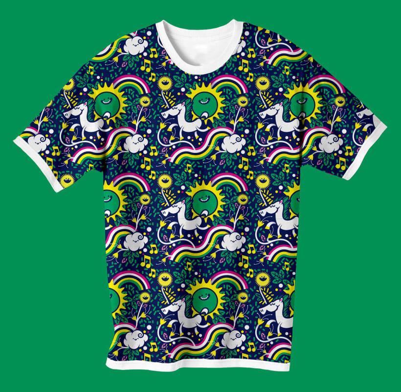 Pattern unicornio 0