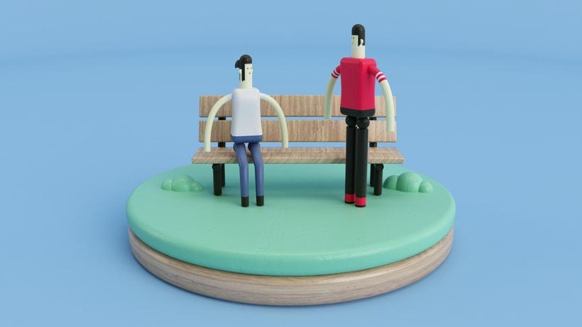Primer video en 3D - Prueba de texturas -1