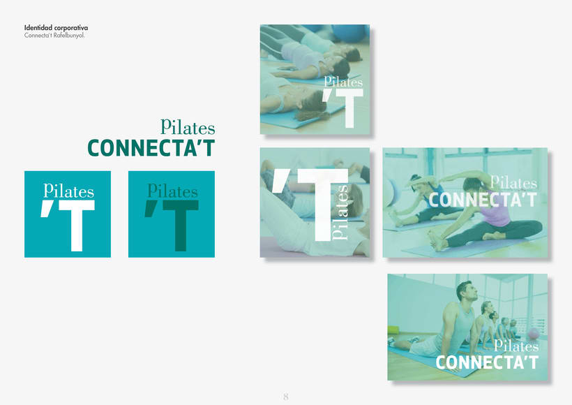 Identidad corporativa para; Connecta't Pilates  Rafelbuñol. 0