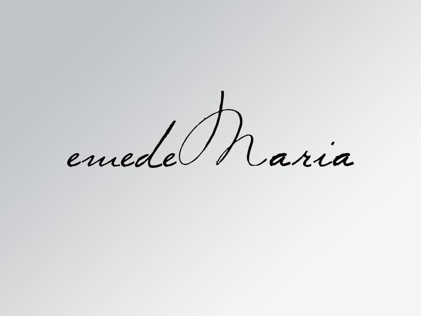 Diseño Imagen Coorporativa / emedeMaria 1