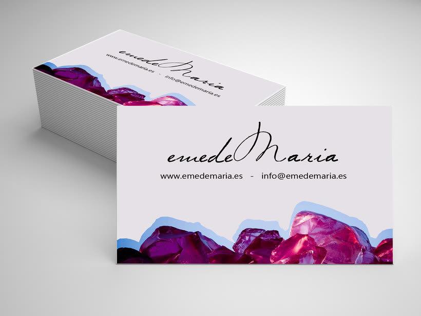 Diseño Imagen Coorporativa / emedeMaria 6
