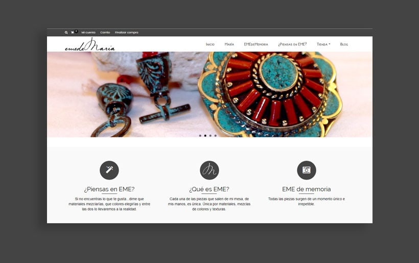 Diseño Imagen Coorporativa / emedeMaria 3