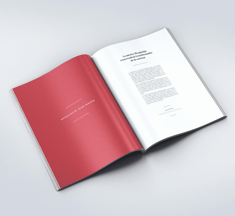 Diseño Catálogo - Associacó Joan Manén 0