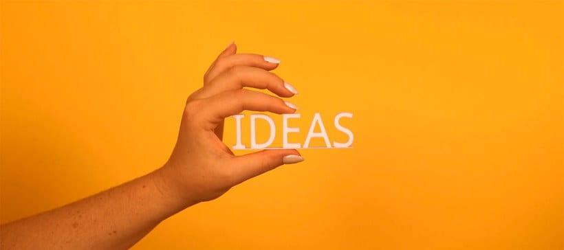¿De dónde vienen las ideas? 1