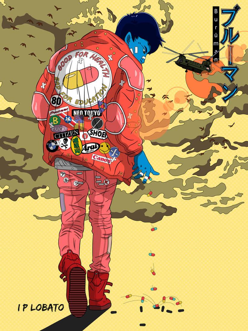 Las ilustraciones de inspiración asiática de IP Lobato 1