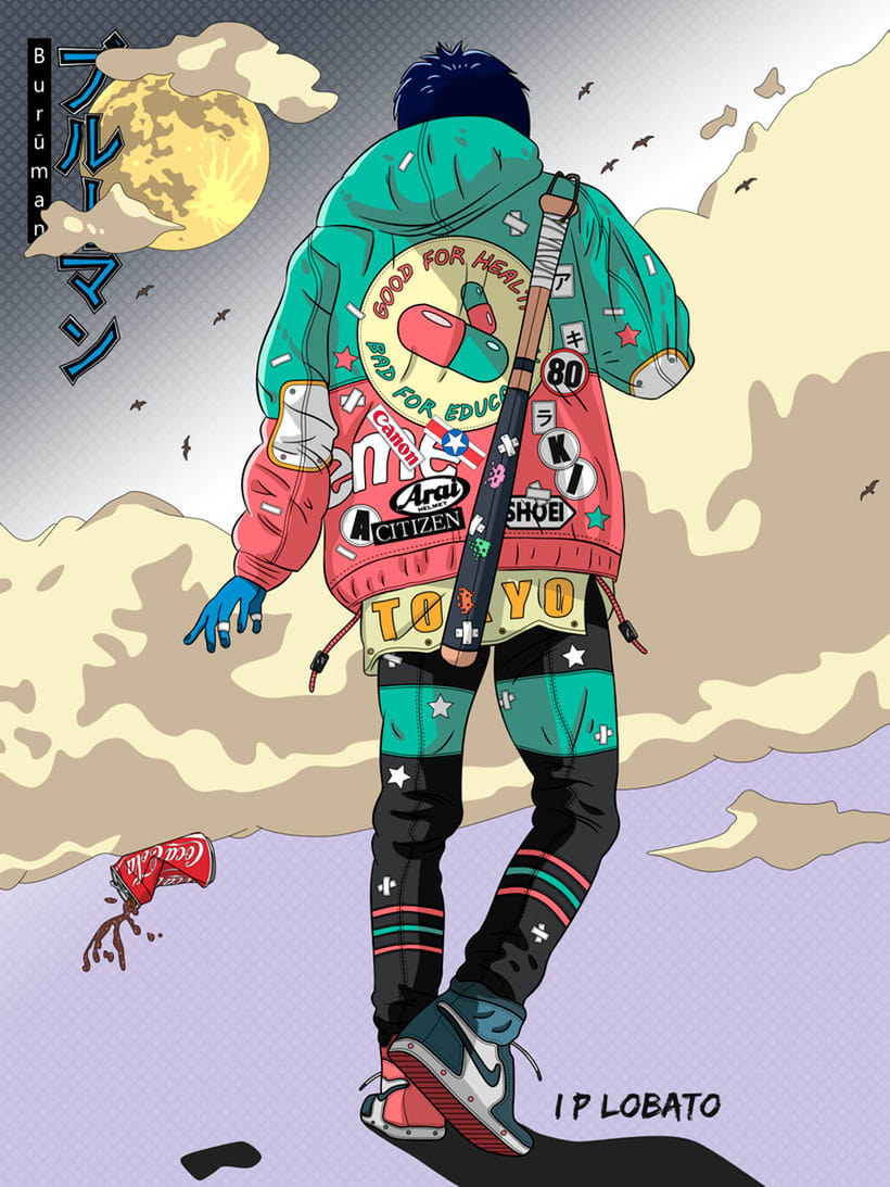 Las ilustraciones de inspiración asiática de IP Lobato 11