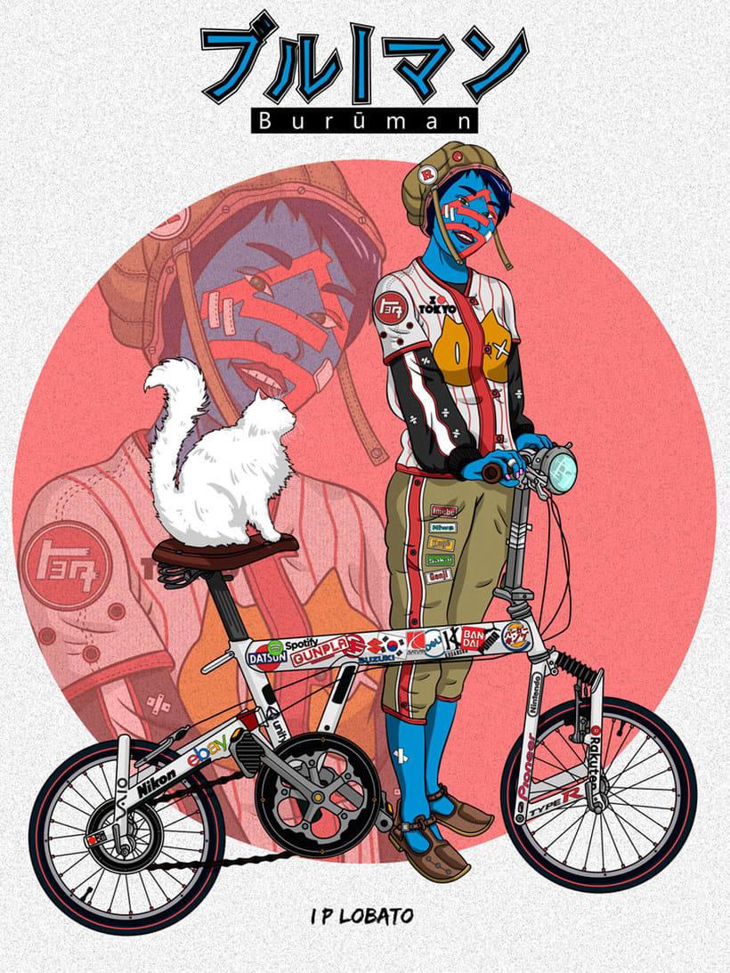Las ilustraciones de inspiración asiática de IP Lobato 12