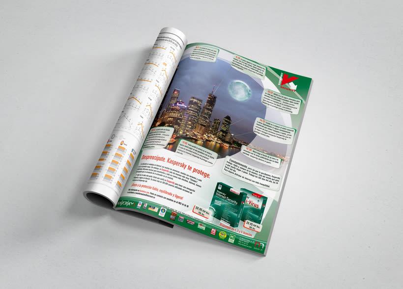 Publicidad Kaspersky 7.0 (2007) 0