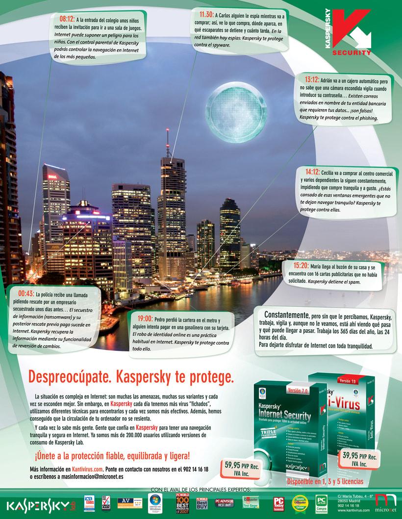 Publicidad Kaspersky 7.0 (2007) 1