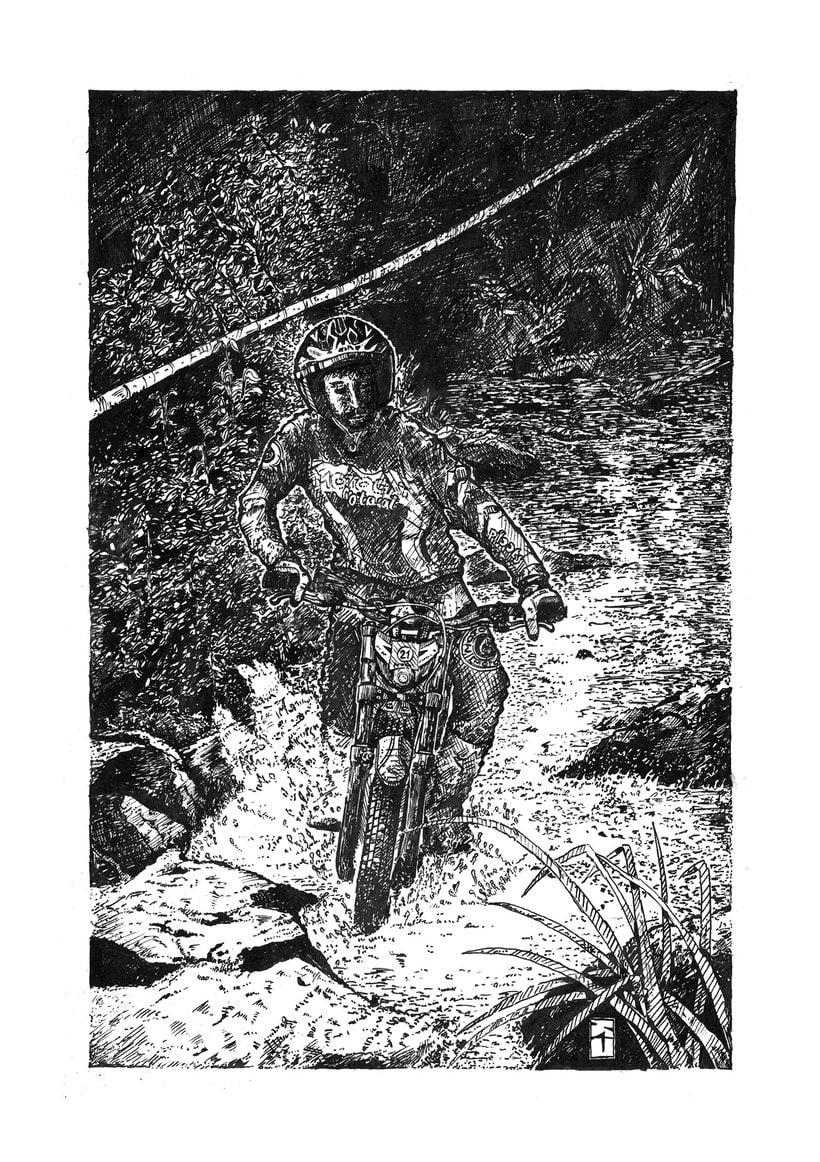 Tinta seria - Ilustraciones a tinta 1