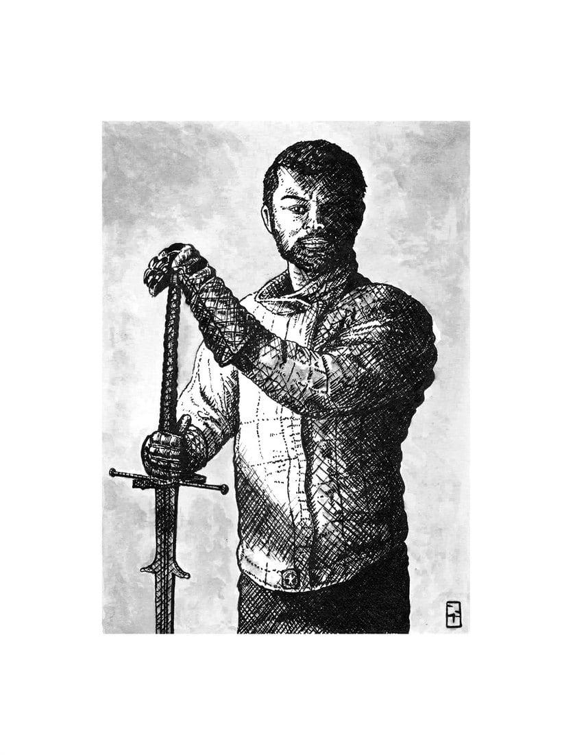 Tinta seria - Ilustraciones a tinta 4
