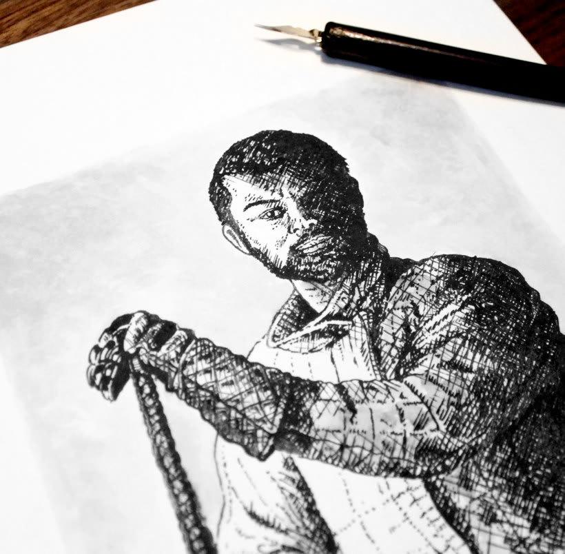 Tinta seria - Ilustraciones a tinta 5
